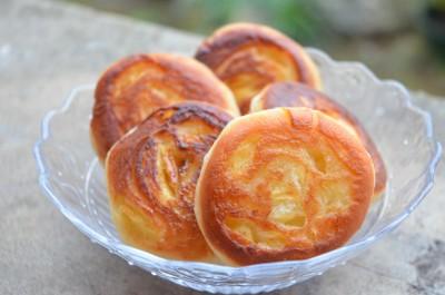 Beignets en spirale aux pommes