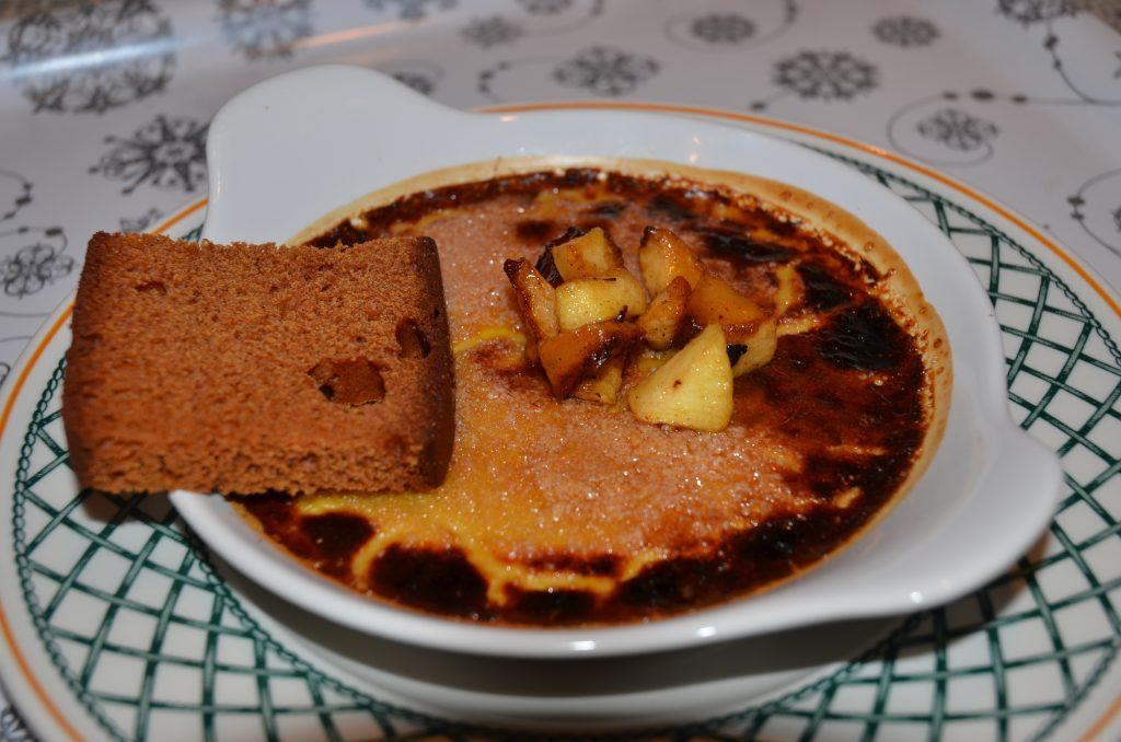 crème brûlée au foie gras