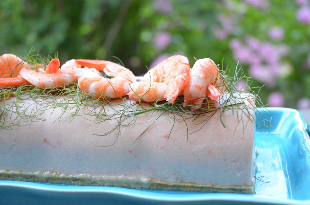 Bûche de crevettes