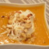 Velouté de courge butternut chantilly parmesan