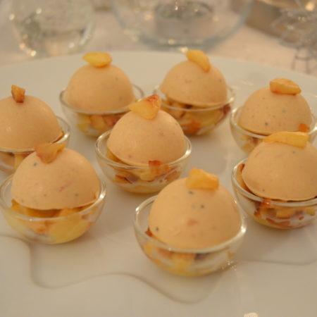 mousse de foie gras